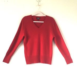 Apt. 9 Sweaters - Apt. 9 | Red 100% Cashmere Sweater